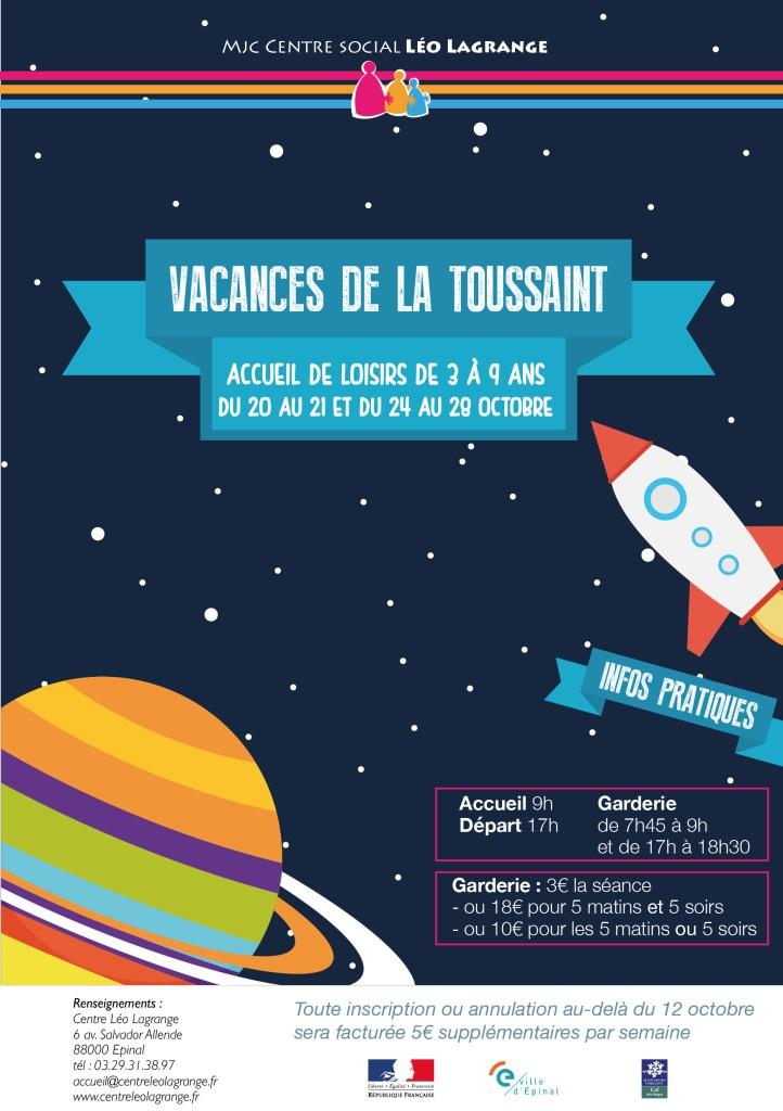 Vacances de la toussaint 3 9 ans centre l o lagrange - Les vacances de la toussaint 2020 ...